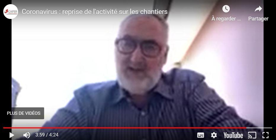 Intervention de Patrick LIEBUS - Président de la CAPEB